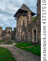 inner yard and tower of Nevytsky castle 43737510