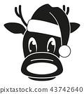 reindeer,hat,cap 43742640