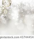 背景 - 雪 - 聖誕節 - 銀 - 金蔥 43744454