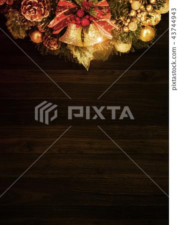 背景 - 圣诞节 - 租赁 - 贝尔 43744943