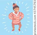 Infant child baby girl toddler. 43745763