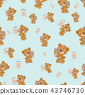 bear,seamless,pattern 43746730