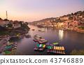Omkareshwar cityscape, India 43746889
