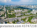 Aerial view of the National Technical University of Ukraine, also known as Igor Sikorsky Kyiv 43747238