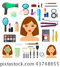 tools for makeup and beaty 43748655