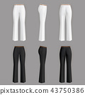 trousers formal realistic 43750386