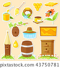 cartoon stickers of beekeeping 43750781
