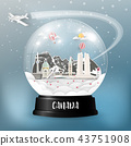 Canada Landmark Global Travel And Journey paper. 43751908