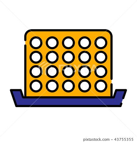 Bingo LineColor illustration 43755355