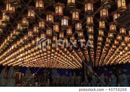 Miyajima, the temple of Daishoin 43758208