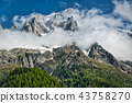 Clouds over the Mont Blanc group 43758270