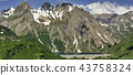 Mountains over the Lake of Morasco 43758324