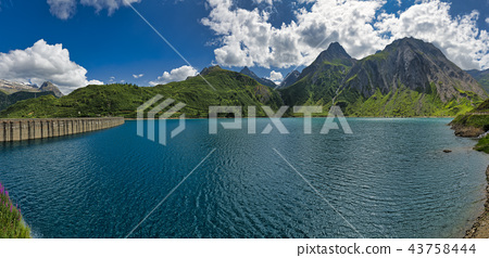 Dam and Lake of Morasco, Val Formazza 43758444