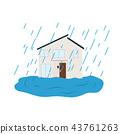 비, 집, 호우 43761263