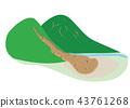 從山頂到達平原的泥石流 43761268