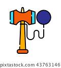 Kendama LineColor illustration 43763146