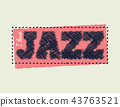 I love jazz Vector EPS illustration. 43763521