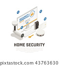 Home Security Design Concept  43763630