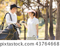 Golf Couple 43764668