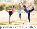 exercise, female, outdoors 43764672