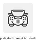 classic car icon 43765648