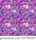 Ultraviolet gems seamless pattern 2 43766567