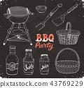 bbq accessories  sketch 43769229