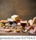 Dutch holiday Sinterklaas festive breakfast 43770425