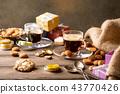 Dutch holiday Sinterklaas festive breakfast 43770426