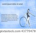 rhythmic gymnastics background 43770478