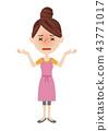 Young housewife image 43771017