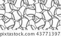 baseball Seamless pattern vector ball tennis tile 43771397