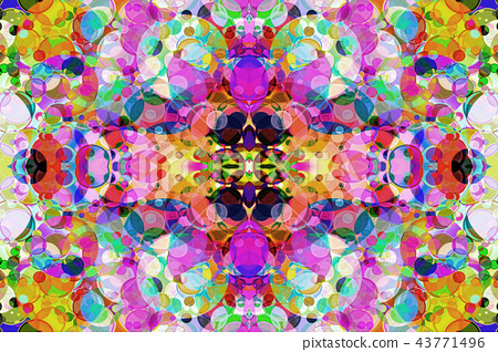 Multicolored Kaleidoscope abstract background. 43771496