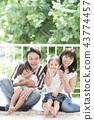 가족, 패밀리, 웃는 얼굴 43774457