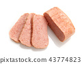 luncheon meat, spam, ham 43774823