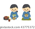 japanese tea ceremony, female, lady 43775372