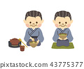 japanese tea ceremony, senior, japanese tea 43775377