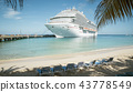 Turks and Caicos Islands, cruise ship 43778549