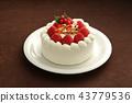 聖誕蛋糕 43779536