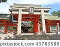 住吉大社 神殿 鸟居 43783580