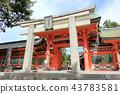 住吉大社 神殿 鸟居 43783581