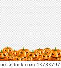 Pumpkin Border Transparent Background 43783797
