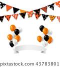 Flag Halloween Bunting 43783801