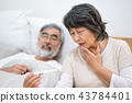 老人 溫度計 體溫計 43784401