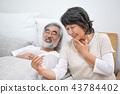老人 溫度計 體溫計 43784402