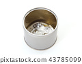 empty can, lid, can 43785099