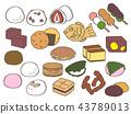 일본식 과자, 일본 과자, 세트 43789013