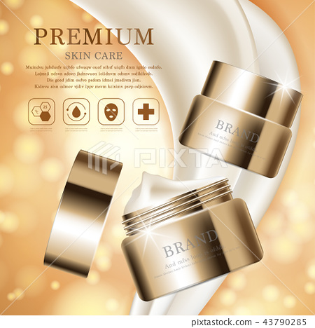 Hydrating facial cream for annual sale. 43790285