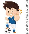 ฟุตบอล,ลูกฟุตบอล,นักฟุตบอล 43790458