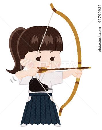 Archery women 43790986